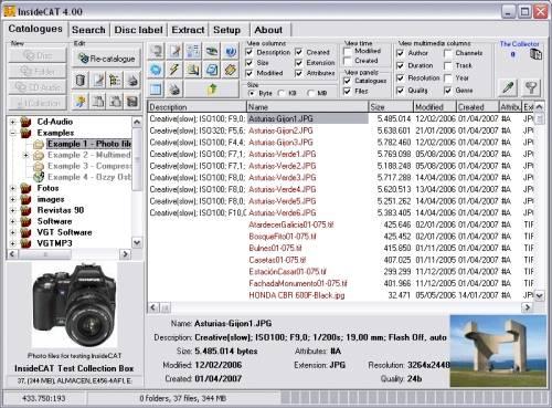 Capture d'écran InsideCAT Lite Edition
