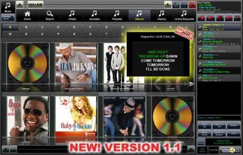 Capture d'écran Jukebox Jockey Media Player Home