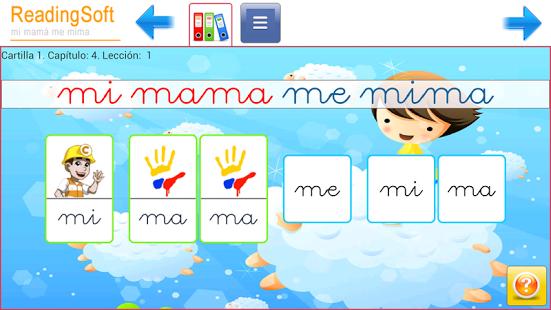 Capture d'écran Apprendre à lire Cours complet Android