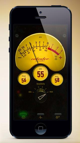 Capture d'écran Sonomère VU Mètre iOS