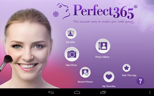 Capture d'écran Perfect365:Meilleur maquillage