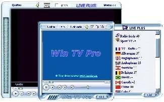 Capture d'écran Win TV Pro