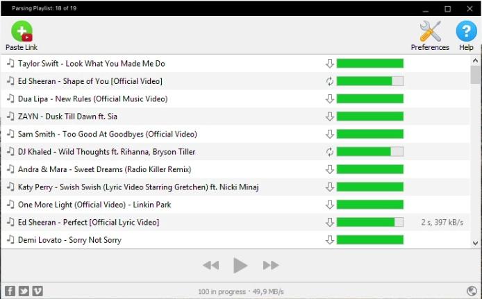 Capture d'écran 4K YouTube to MP3