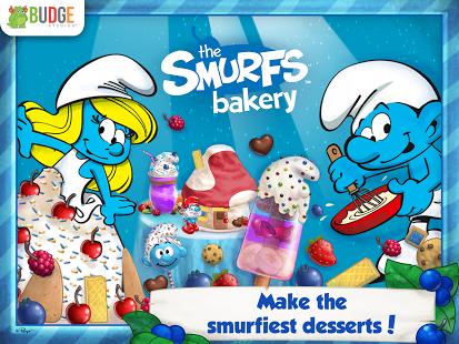 Capture d'écran The Smurfs Bakery