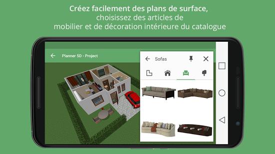 Capture d'écran Planner 5D Android