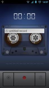 Capture d'écran Sound Recorder