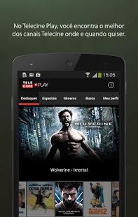Capture d'écran Telecine Play – Filmes Online