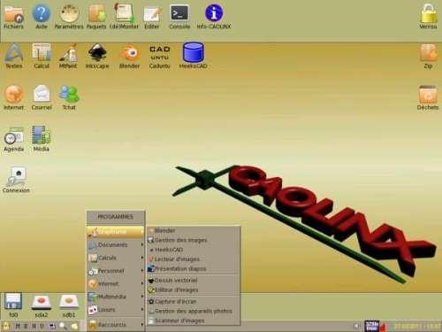 Capture d'écran CAOLINX