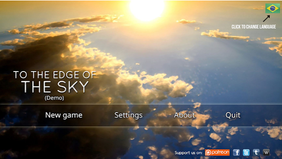 Capture d'écran To the Edge of the Sky – Demo Android