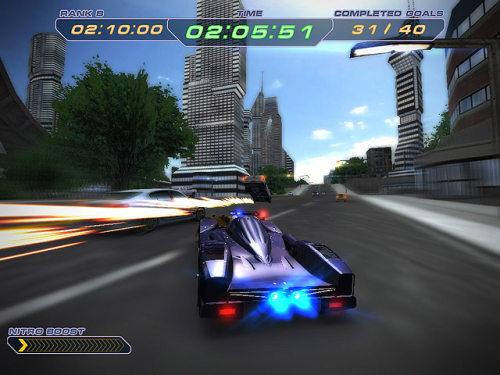 Capture d'écran Super Police Racing