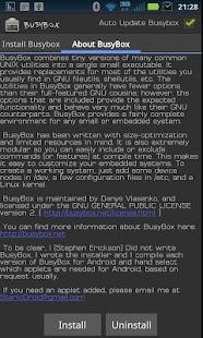 Capture d'écran BusyBox Pro