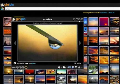 Capture d'écran Ginipic