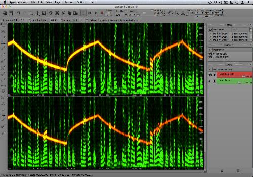 Capture d'écran SpectraLayers Pro