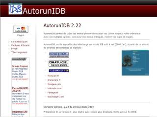 Capture d'écran AutorunIDB