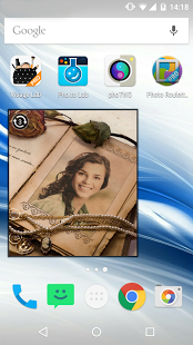 Capture d'écran Photo Roulette Widget