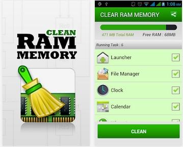 Capture d'écran Clean Ram Memory Android