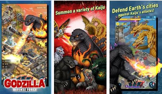 Capture d'écran Godzilla Defense Force