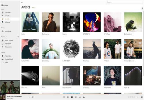 Capture d'écran Autobeat Player Mac