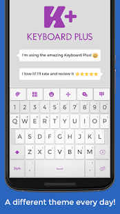 Capture d'écran Keyboard Plus Emoji