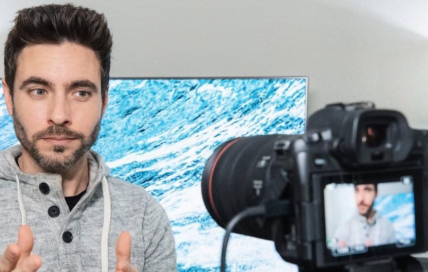 Capture d'écran Canon EOS Webcam Utility