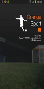 Capture d'écran Orange sport