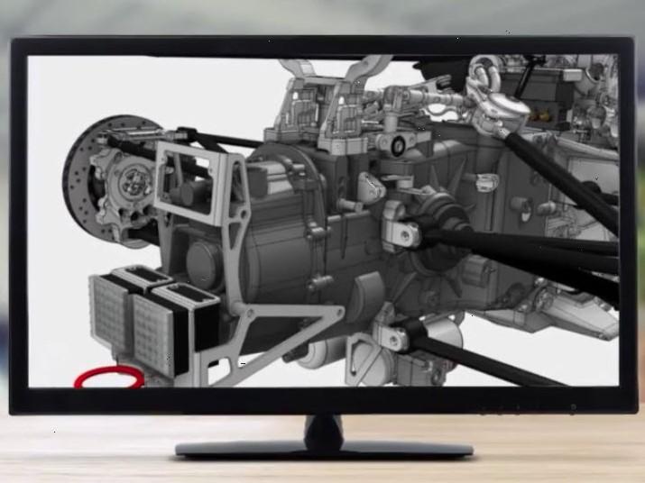 Capture d'écran Inventor