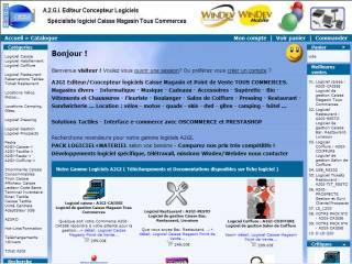 Capture d'écran A2GI-COIFFURE