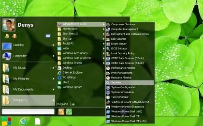 Capture d'écran Start Menu X