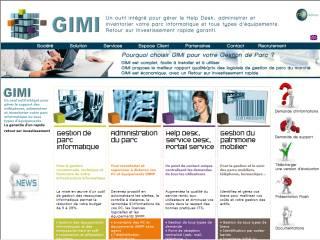 Capture d'écran GIMI