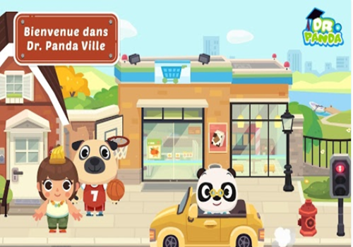 Capture d'écran Dr Panda Ville iOS