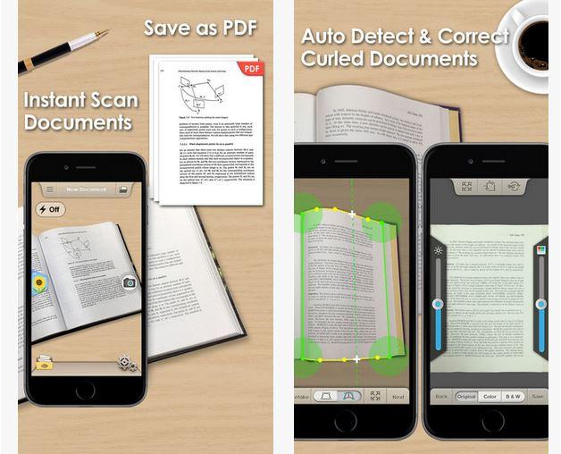Capture d'écran Doc Scan iOS