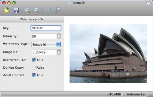 Capture d'écran Icemark for Mac
