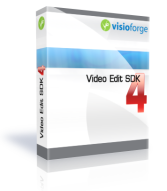 Capture d'écran VisioForge Video Edit SDK (ActiveX Version)