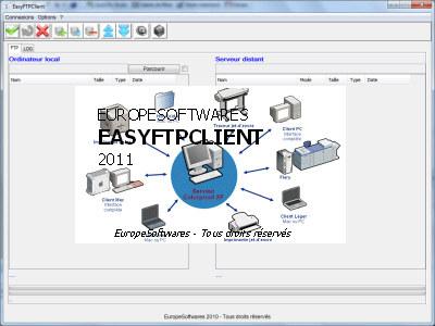 Capture d'écran EasyFTPClient
