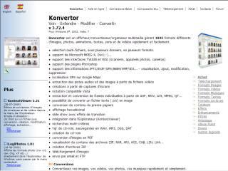Capture d'écran Konvertor_pdf2xxx