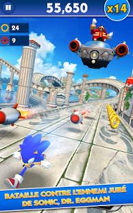 Capture d'écran Sonic Dash