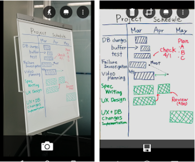 Capture d'écran Office Lens – Android