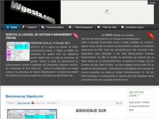 Capture d'écran Wgesta