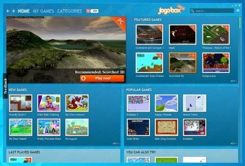 Capture d'écran Jogobox