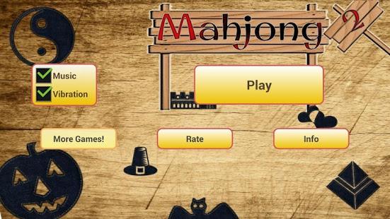Capture d'écran Mahjong 2