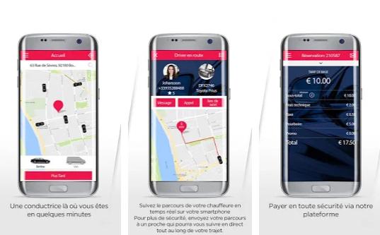 Capture d'écran Kolett Android