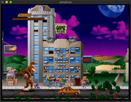 Capture d'écran SixtyForce Mac