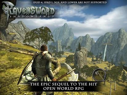 Capture d'écran Ravensword: Shadowlands 3d RPG