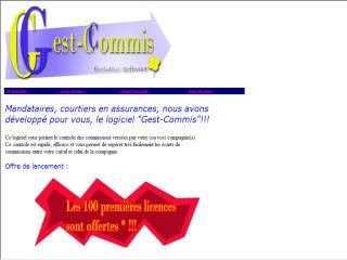Capture d'écran GEST-COMMIS