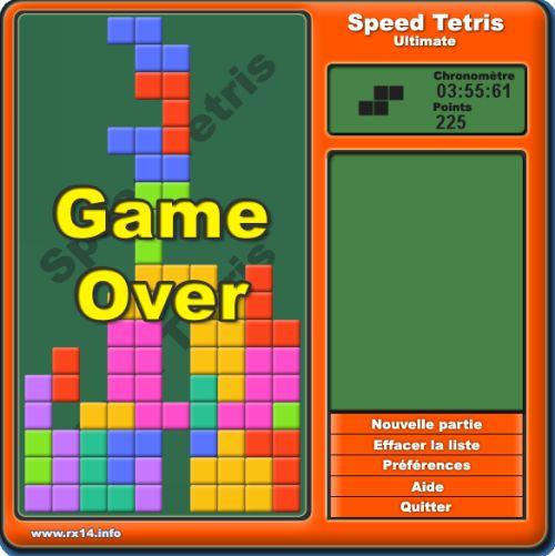 Capture d'écran Speed Tetris Ultimate