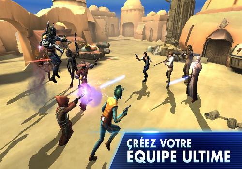 Capture d'écran Star Wars : Galaxy of Heroes iOS
