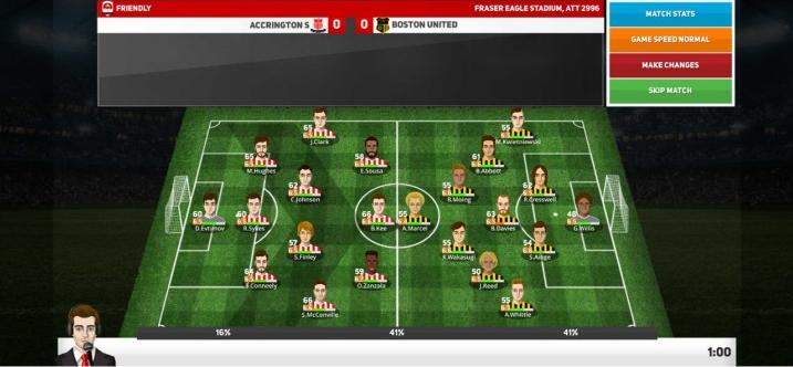 Capture d'écran Club Soccer Director 2020 iOS