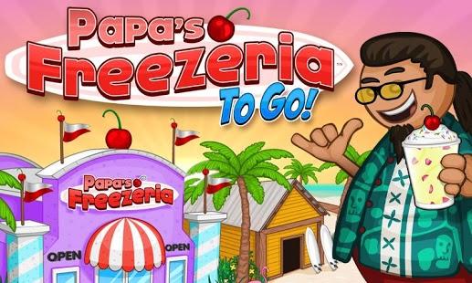 Capture d'écran Papa's Freezeria To Go!