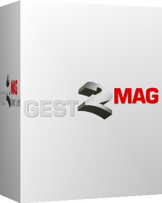 Capture d'écran Gest2Mag