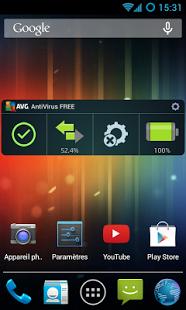 Capture d'écran AntiVirus FREE : gratuit